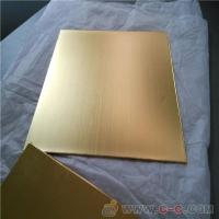 专业生产不锈钢拉丝红古铜板 201不锈钢青古铜板 广东水镀铜厂