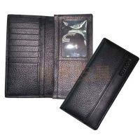供应PIXIU黑色真皮钱夹钱包长钱包,工厂专业定制