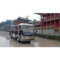 朗迈23座观光电动车,景区大容量电动旅游观光巴士,县城电动公交车