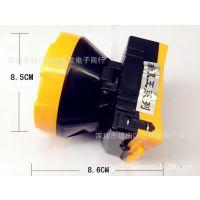 雅格电池头灯 LED头灯 可充电头灯  手电头灯批发 生产厂家 定制