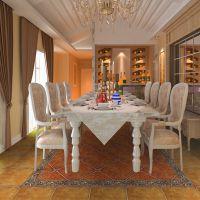 仿古砖地砖复古中式圆角500x500地中海客厅厨房瓷砖地板砖