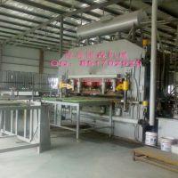 供应设计先进高精度三聚氰胺热压机贴面设备-青岛国森