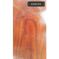 艺锋不锈钢 金丝楠木哑光不锈钢板橱柜门板