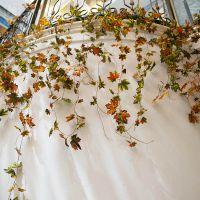 创意家居饰品 田园高仿真藤条装饰 空调管道装饰藤蔓假花假树叶