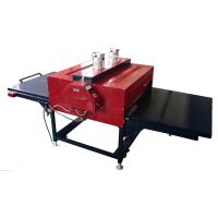 B4气动烫画机60*80c双工位T恤印花机服装印花机器设备热转印机