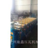 泊头地鑫850/900型双层彩钢压瓦机