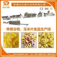 济南大亿机械SLG早餐谷物、玉米片食品生产线、玉米薄脆片设备、谷物圈设备