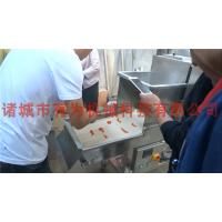 鸡柳裹粉机 鸡柳条上粉机有为机械专业制造