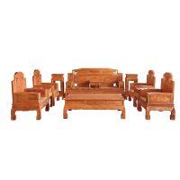 红木家具十大品牌|红木家具|誉典福锦上添花沙发
