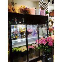 荆门市雪弗尔三门风冷鲜花柜 哪里有卖鲜花展示柜 展示柜价格哪家好
