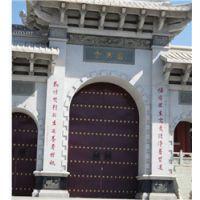 郑州仿古大门设计 明清大门设计