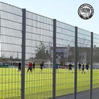 北京学校体育场护栏,也叫围栏网或隔离网,喷塑编织,3*4米,厂家直销13383380113