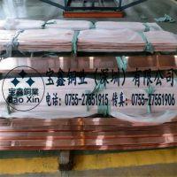 【宝鑫铜业】T2 T3镀锡紫铜排50*5 60*6mm圆角镀锌紫铜排 铜条 厂家定做异形铜排