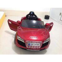 新款上市仿奥迪烤漆版儿童遥控汽车 双开门遥控电动车一件发货