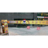 发布上海小区门口起落横杆广告 发布道闸广告