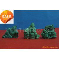 四大名玉 绿松石雕刻摆件