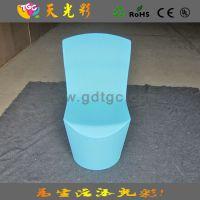 优质防水PE塑料酒店桌椅  餐厅椅子 休闲椅  一体成型的宴会椅