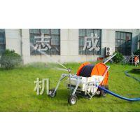 山东直销移动式草坪喷水机农田专用喷灌机水涡轮驱动灌溉机