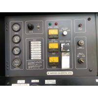 二手低噪音柴油发电组160KW /日野K13D-TA