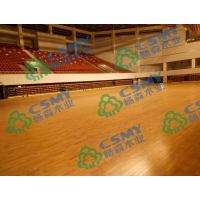 专业安装体育运动木地板结构