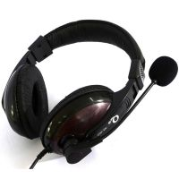 TCL E-203耳机 游戏耳机 头戴式电脑游戏耳麦带麦克风 网吧耳机