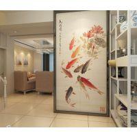 供应艺术玻璃拼花是怎么做的?玻璃背景墙彩雕机器