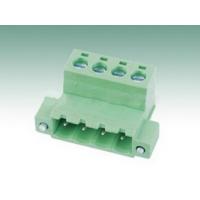 快速插拔接线端子2EDGKRM-5.0/5.08 绿色对插两端接线座