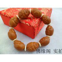 橄榄核雕刻橄榄胡 小沙弥小弥勒 卡通Q版小和尚小籽手串手链
