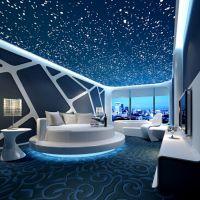 主题酒店大堂壁画设计 宾馆大型墙画价格 情侣概念酒店3d壁画定制