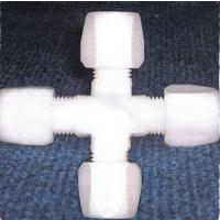 供应PTFE接头系类PTFE四通、三通、弯头