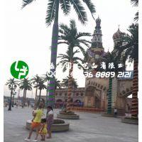 仿真椰子树仿真棕榈树仿真植物热带海滩风景树酒店大厅摆放装饰