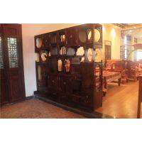博古架中式实木仿古多宝阁明清古典榆木展示柜古董架储物架