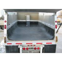 不粘料自卸车厢衬板、聚乙烯耐磨抗震车厢内衬浴兴供应