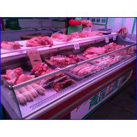 超市定做冷鲜肉柜品牌 凉菜熟食冷藏展示柜 淮南风冷鸭脖保鲜柜