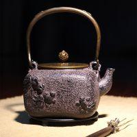 龙秀堂铁壶厂家定制礼品定做无涂层金鱼年年有余礼盒包装茶壶