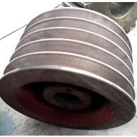 供应大连通用35L铸铁V型主动轮 大连诚丰密炼机皮带轮