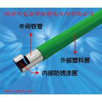 大量销售28MM精益管 1.0厚度蓝色线棒 深蓝色复合管