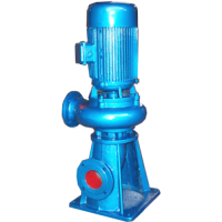 150LW150-35-37排污泵厂家 立式无堵塞排污水泵