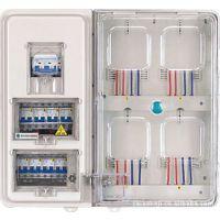 供应新型塑料透明电表箱-四表