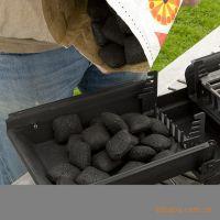 火焰公爵专用BBQ烤碳 3kg每包含助燃油 球形烧烤炭 环保无烟碳