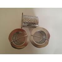 供应可多层/可单层不锈钢包边滚焊电解抛光圆孔网过滤桶/滤芯冲压配件