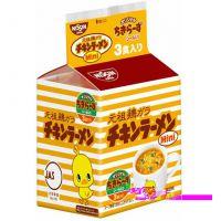 特价 日本进口日清高钙维生素婴儿/宝宝鸡汤点心拉面条20gx3包