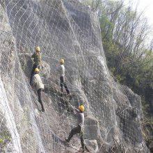 安平旺来直销被动SNS柔性边坡防护网 落石防护用网 裹塑边坡防护网