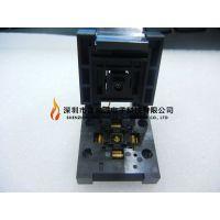 ENPLAS IC插座 QFN-40BT-0.4-001 QFN40PIN 0.4MM间距5*5mm
