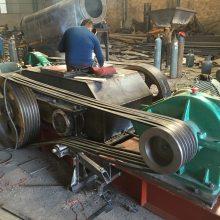 四川攀枝花时产100吨钢渣矿石对辊破碎机--认准昆明润洋重机