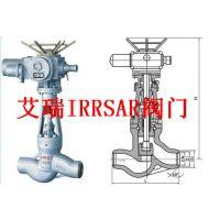 江苏艾瑞高温高压电动截止阀、进口高温高压电动截止阀、IRRSAR牌电动截止阀