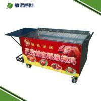 六排木炭烤鸡炉|烤鸡翅鸡腿炉子|摇滚烤鸡腿车|北京自动翻转烤鸡炉