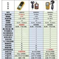 正品标智GM816A 手持式数字风速仪风速计测量表测试风向仪风量计