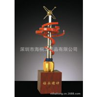 火爆热销 钻头精神玉石雕塑 雕塑工艺品厂家 高端商务礼品定制