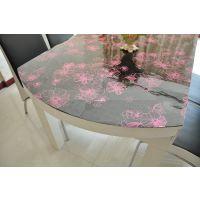 批发桌布PVC水晶板软玻璃透明塑料 透明软玻璃门帘 桌面PVC软玻璃